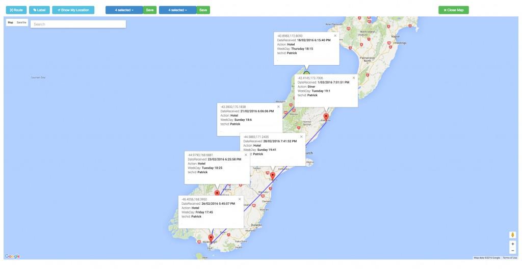 CCi Meridian-map