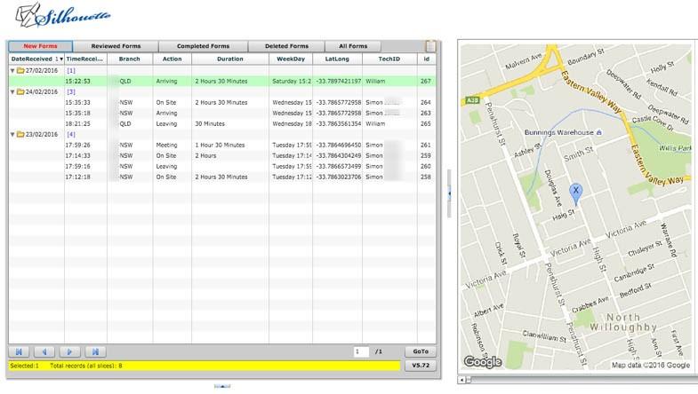 CCi Meridian-Silhouette-Document Portal