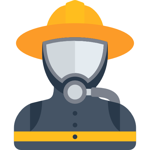 Industry Focus - Fireman icon
